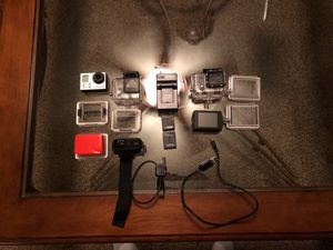 GoPro Hero 3 Black + with Touch Screen BacPac Bundle for Sale in Fairfax, VA