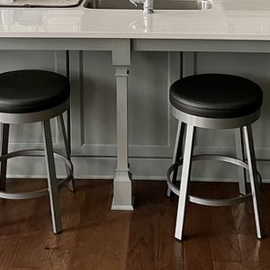 6 Leather Dining Stools for Sale in Marietta, GA