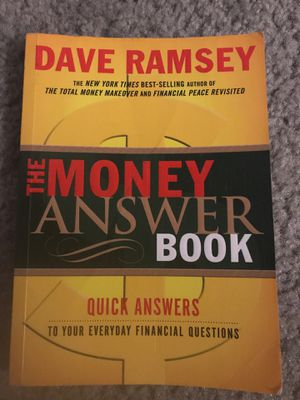 The Money Answer Book - Dave Ramsey for Sale in Gainesville, FL