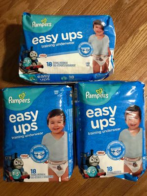 Pampers easy ups x 3 for Sale in Bethesda, MD