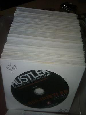 Lot of 80 Hustler magazine bonus DVDs 4 hours XXX for Sale in Miami, FL