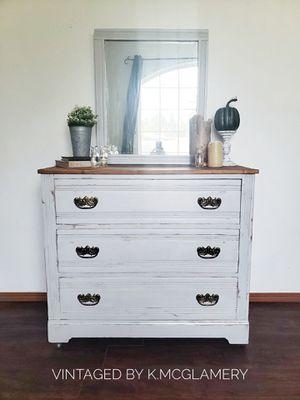 Antique wood dresser for Sale in Rainier, WA