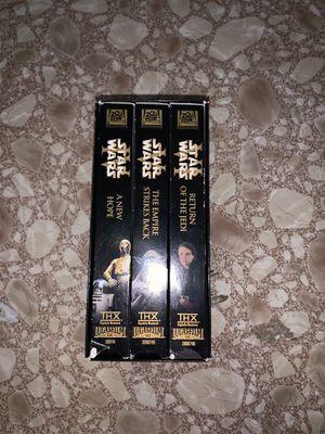 Rare Star Wars collectors box VHS for Sale in Pasco, WA