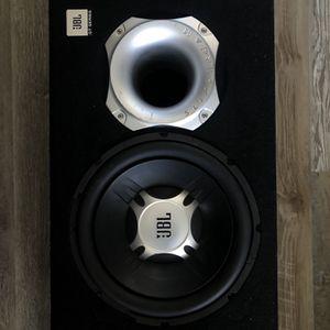 Jbl Subwoofer And Amp Built-in for Sale in Glendale, AZ