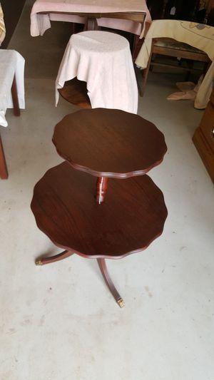 2 tier tables for Sale in Lynchburg, VA