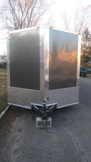 ENCLOSED VNOSE TRAILERS STORAGE MOVING MOTORCYCLE CAR for Sale in New York, NY
