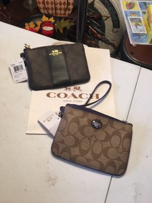 New coach wristlet purse $25 each for Sale in Santa Ana, CA