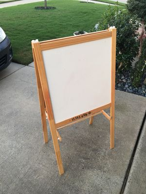 Kids Chalkboard Desk Delux Easel for Sale in Anna, TX