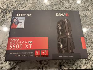 XFX AMD Radeon 5600 XT Raw II gaming graphics card for Sale in Queen Creek, AZ