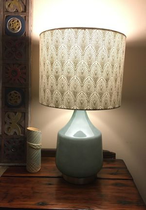 World Market table lamp for Sale in Boston, MA