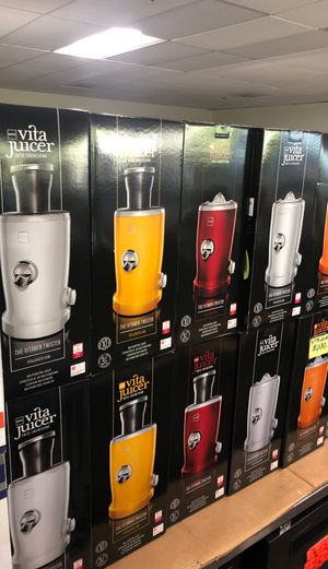 New In Box Vita Juicer Swiss Juicer ***Takes the Pulp Out for Sale in Rockville, MD