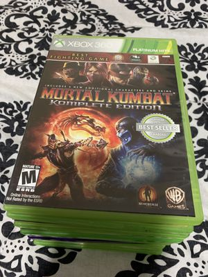 Xbox 360 games for sale for Sale in Haverhill, MA