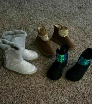 Girl boots size 12 for Sale in Phoenix, AZ
