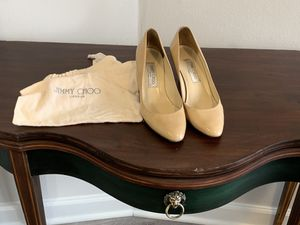 Jimmy Choo Pumps Heels 2 inch Nude Baige Size 39 for Sale in Arlington, VA