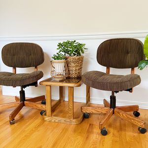 2 Mcm Desk Chairs for Sale in Des Moines, WA