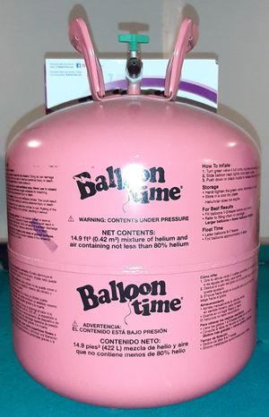 Empty balloon time tank, pickup only for Sale in New York, NY