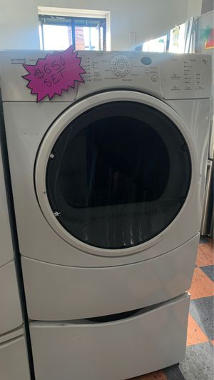 Kenmore Elite White Washer and Dryer for Sale in West Covina, CA