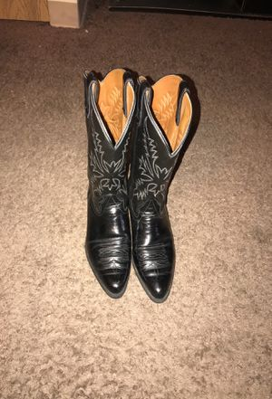 Leather Cowboy boots for Sale in Detroit, MI