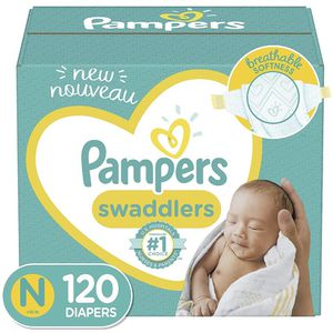 Pampers Swaddlers Size Newborn Diapers-pañales for Sale in Downey, CA