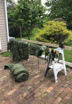 Survival Gear - sleeping bag ..... complete set for Sale in McKeesport, PA