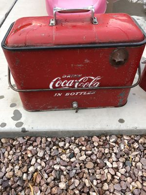 Antique collectible Coca Cola coolers for Sale in Peoria, AZ