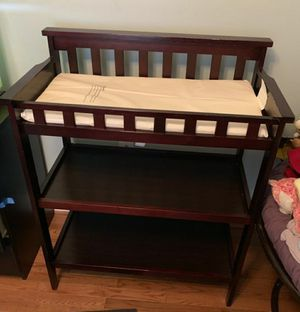 Changing table with changing pad for Sale in Arlington, VA