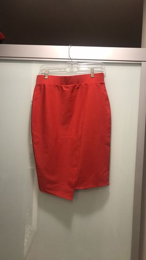 Belle Sky Asymmetrical Red Skirt SZ M for Sale in Chicago, IL