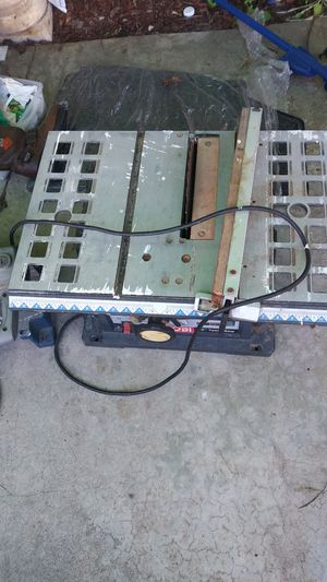 Ryobi both table table saw for Sale in Lawndale, CA