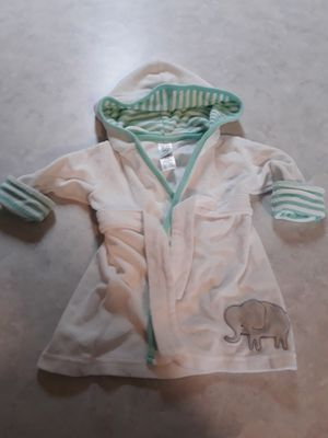 Carter's Baby Robe with a cute little elephant for Sale in Keizer, OR