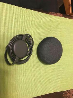 Google Chromecast and Google home mini for Sale in Sun Valley, NV