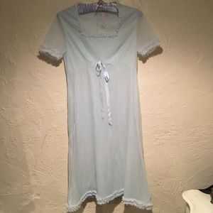 Baby blue vintage nightgown for Sale in Ocean City, NJ