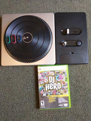 Dj Hero For Xbox 360 for Sale in Santa Ana, CA