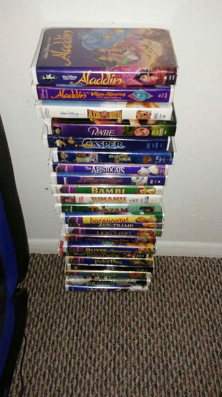VHS DISNEY MOVIES