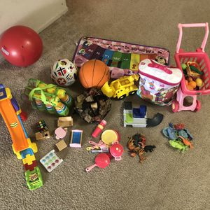 Kids Toys All For $8 for Sale in Minneapolis, MN
