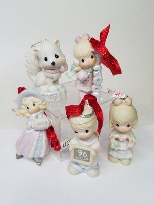 Precious Moments Porcelain Bisque Dated Christmas Ornaments (Read Below) for Sale in Phoenix, AZ