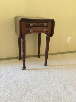 Antique drop leaf table for Sale in Phoenix, AZ