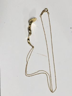 Tiffany & Co Frank Gehry 18k Chain/Charm 3.9 Grams for Sale in Los Angeles, CA