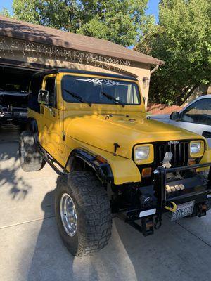 1988 jeep wrangler 4.2 for Sale in Stockton, CA