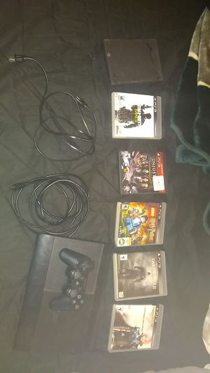 Used PS3 w/ Games and Cords (MORE GAMES!) for Sale in Sturgis, KY