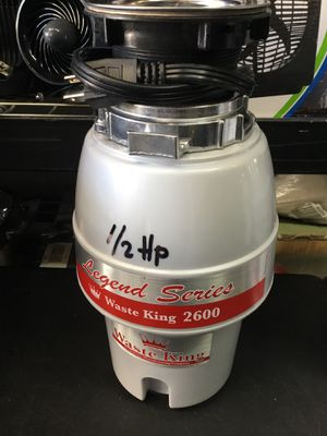 WASTE KING 2600 GARBAGE DISPOSAL $55 for Sale in Downey, CA