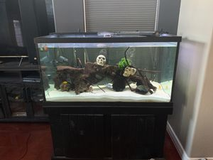 Aquarium 120 gallon w/ stand for Sale in Avondale, AZ