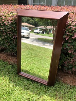 Large Solid Wood Mirror for Sale in Savannah, GA