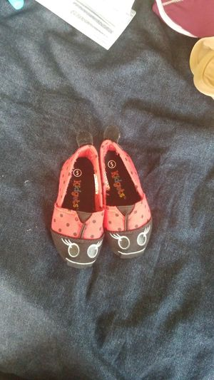 Toddler Girl Slip On Shoes Ladybug Size 5 New for Sale in San Ramon, CA