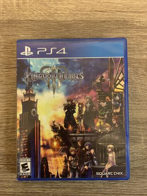Kingdom Hearts 3 PS4 for Sale in Alafaya, FL