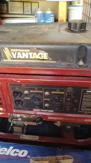 Generador vantage have 120 and 240 volt circuit works very nice for Sale in Albuquerque, NM