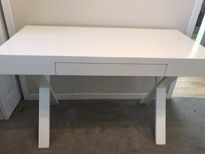 Pier 1 White Wood Desk for Sale in La Mesa, CA
