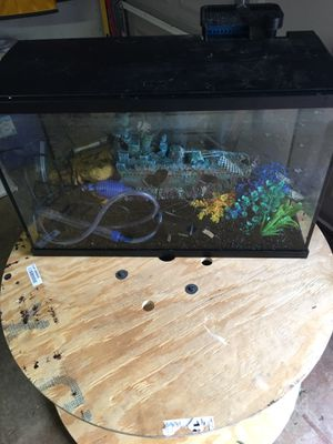 30 gallon fish tank for Sale in Bowie, MD