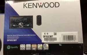 KENWOOD DPX523BT DOUBLE DIN CAR USB CD RECEIVER STEREO BLUETOOTH for Sale in Gardena, CA