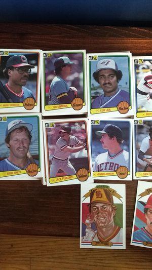 1983 Donruss baseball cards around 250 total for Sale in Clarksville, IN