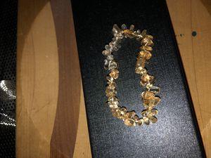 Citrine stone bracelet for Sale in Stockton, CA